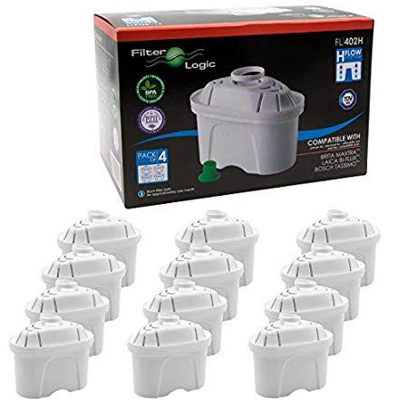 Adatto Brita Maxtra caraffe Cartucce filtranti Confezione 12 filtri per Acqua